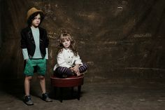 Kids editorial trupe - styling Kika Pagnot