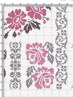 This Pin was discovered by Δαφ Small Cross Stitch, Cross Stitch Books, Cross Stitch Rose, Cross Stitch Borders, Cross Stitch Flowers, Counted Cross Stitch Patterns, Cross Stitch Designs, Cross Stitching, Cross Stitch Embroidery