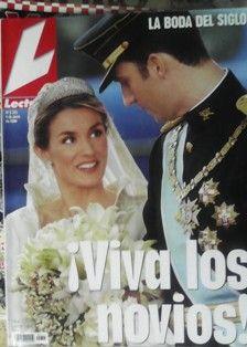 La boda del Principe Felipe y Letizia Ortiz, tuvo lugar en Madrid en mayo de 2004.