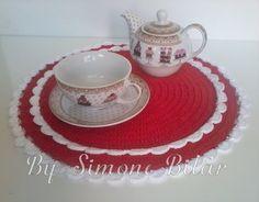 LANÇAMENTO!!!!!!!! Suplat Passione Vermelho e Branco.  Pura delicadeza! Na Lojinha já tem ,passa lá: www.recanto.loja2.com.br