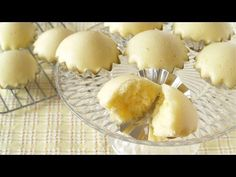 How to Make Maple Steamed Cakes (Recipe) メープル蒸しパンの作り方 (レシピ) - YouTube   I think I will try gluten free flour with this recipe and see what happens.