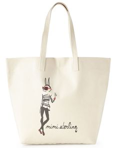 Parker Thatch Isabelle the Bunny Big Bag Tote