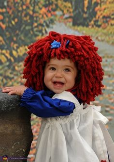 Raggedy Ann - Homemade costumes for girls
