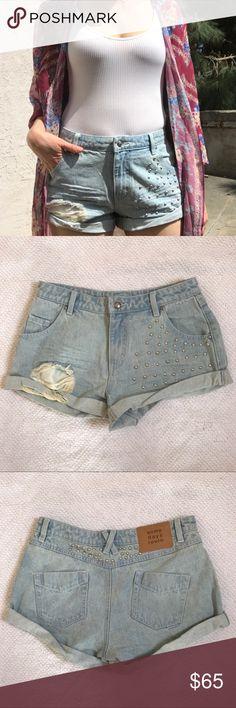 I just added this listing on Poshmark: NWT Somedays Lovin Studded Distressed Shorts. #shopmycloset #poshmark #fashion #shopping #style #forsale #Somedays Lovin #Pants