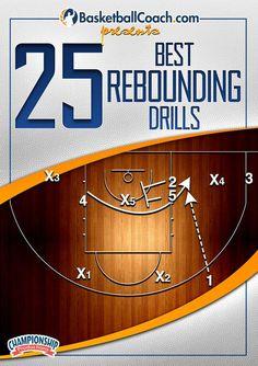 25 Best Rebounding Drills - Coach's Clipboard #Basketball DVD Store