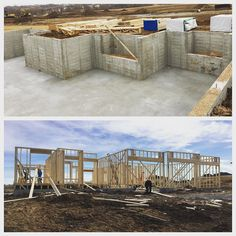 https://www.instagram.com/p/BQWKX4QjxLs/#framingfriday Our awesome framers are at it again! Here is a photo from before they started Wednesday morning to today's progress check. This 1900 square foot ranch in the coveted Boulder Ridge Development could be yours this spring! #trademarkbuilders #homebuilder #builder #framing #modernhome #newconstruction via www.trademarkbuilderslincoln.com/