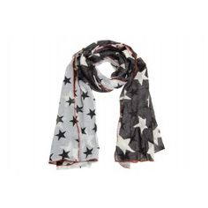 #scarf #stars #Amust #black #white