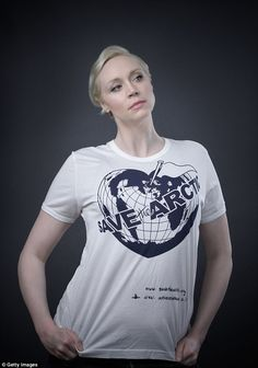 Gwendolyn Christie saving the Arctic! Gwendolyn Christie, Vivienne Westwood T Shirt, Andy Gotts, Jaime And Brienne, Jaime Lannister, Save The Arctic, London Summer, Hooray For Hollywood, Punk