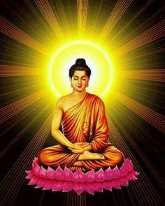 Buddha Painting, Buddha Art, Buddha Statues, Buddhism Wallpaper, Lord Buddha Wallpapers, Amor Universal, Buddhist Symbols, Buddha Tattoos, Indian Goddess