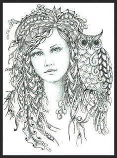 Fairy Tangles: Lana