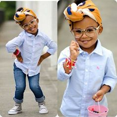 Yasss! Honey!!! #cutie Werking the Headscarf and all!!