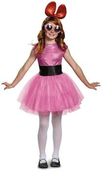 PartyBell.com - Powerpuff Girls Blossom Tutu Deluxe Child Costume