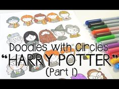 Welcome to a new segment of my channel! Doodles with Circles is where I use my own circle guides and draw something on or in it. And for this episode, I am d...