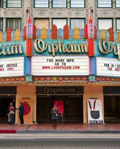 The Orpheum Theater in LA