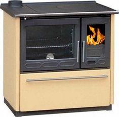 sporák na tuhé palivo PLAMEN 850 GLAS slabo hnedý L Oven, Kitchen Appliances, Corning Glass, Diy Kitchen Appliances, Home Appliances, Ovens, Kitchen Gadgets