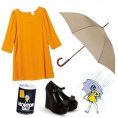 Morton Salt Girl Costume...so clever