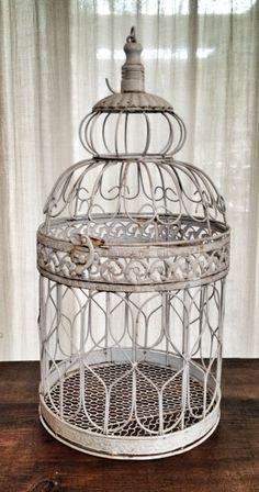 White iron cage (pcs 6)