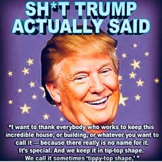 It's The White House. He's lost his mind Dumb Quotes, Christian Warrior, Evil Empire, Wtf Moments, Political Quotes, No Name, Hilarious, Funny, Illuminati