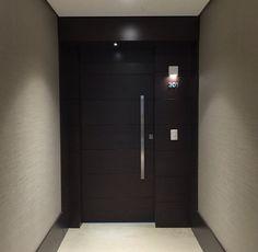 Porta de apartamento