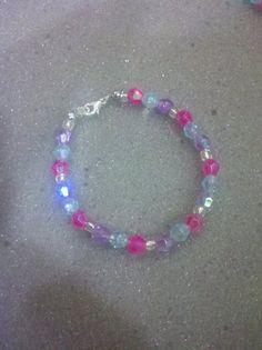 """Spring Crystal Bracelet 6 1/2"""" $10"""