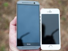 HTC One M8 vs iPhone 5S (Video)