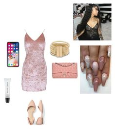 Untitled #1766 by glamsquadhippie on Polyvore featuring polyvore fashion style Chanel Bobbi Brown Cosmetics clothing