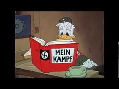 """Donald Duck Nazi """"Der Fuehrer's Face"""" - 1943 [HD]  """"We bring to the world New Order Heil Hitler's world New Order Everyone of foreign race Will love der fuehrer's face When we bring to the world dis order""""  Franklin D. Roosevelt Hitler NEW WORLD ORDER SPEECH http://www.youtube.com/watch?v=Ak61DaD32Ww  WWII HD: A New World Order 