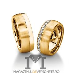 Verighete aur galben de 7.5mm MDV5013 #verighete #verighete7mm #verigheteaur #verigheteaurgalben #magazinuldeverighete Aur, Rings For Men, Wedding Rings, Engagement Rings, Jewelry, Model, Jewels, Diamond, Enagement Rings