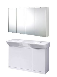 Please do not confuse this amazingly crafted, long lasting bathroom furniture with cheap replicas available elsewhere. We do not stock the lookalike we stock the best for the bathroom, built to last.  Finishes High Gloss White  Touch open & close doors  Single basin  Supplied rigid  Ceramic basin  Add your Optional Mirror Cabinet for only £120.95, was £199 Basin Cabinet, Mirror Cabinets, Closed Doors, Bathroom Furniture, High Gloss, Toilet, Bathtub, Touch, Ceramics
