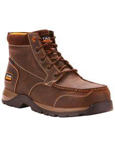 1d399bec1a639b Ariat Men s Brown Waterproof Edge LTE Chukka Boots - Composite Toe