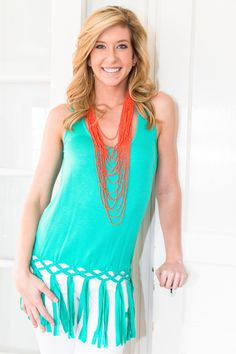 Love Knots Tank SALE $20 - A few of each of the 5 Colors! Shop Now >> http://shopblushalbany.com/sale#!/~/product/category=8446486&id=33308444