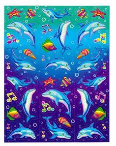 Lisa Frank  Dancing Dolphins
