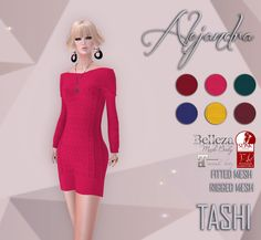 TASHI Alejandra   Hi all! Here it is a new release coming this week to our main store and marketplace!  Happy Shopping Shinya  Main Store maps.secondlife.com/secondlife/DreamsLand/123/143/1589 Marketplace store: marketplace.secondlife.com/stores/4440