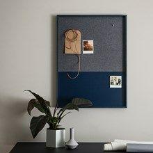 Ferm Living opslagstavle. 62x82 cm,  1700 kr.
