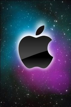 It's rare to see this retro Apple logo, but a refreshing change from the stylish aluminum variety.