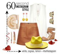"""Selfiestagram"" by minnieromanovich ❤ liked on Polyvore featuring Miu Miu, Loewe, rag & bone, J.W. Anderson, Sensi Studio, Gucci, Kate Spade, Cult Gaia, 60secondstyle and PVShareYourStyle"
