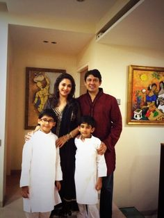 Madhuri and her family