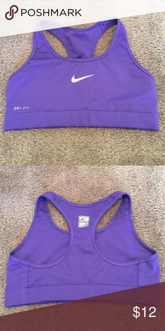 Nike Dri-Fit Sports Bra - Sz S Very gently used and in immaculate condition.  Please shop my closet for a bundle discount! 😃👌🏻 Nike Intimates & Sleepwear Bras