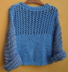 Blusa de linha em trico moda feminina pinterest ems