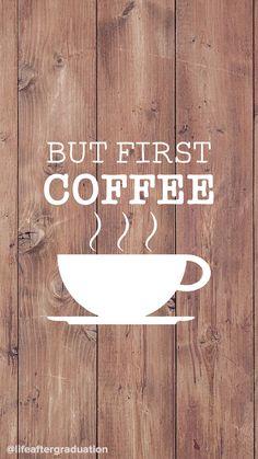 But First Coffee | Lockscreen | Desktop, Wallpaper, Laptop wallpaper