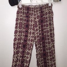 Brandy pants They are long and I've never worn them because they don't fit me (: Brandy Melville Jeans Flare & Wide Leg