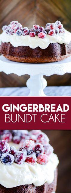 Gingerbread Bundt Cake with Cream Cheese Frosting https://www.somethingswanky.com/gingerbread-bundt-cake-cream-cheese-frosting/?utm_campaign=coschedule&utm_source=pinterest&utm_medium=Something%20Swanky&utm_content=Gingerbread%20Bundt%20Cake%20with%20Cream%20Cheese%20Frosting