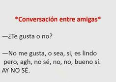 Conversación entre amigas