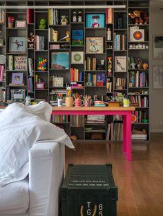 Toque de cor na decoração | Danielle Noce