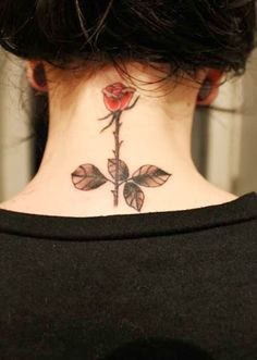 Awesome neck tattoos for girls