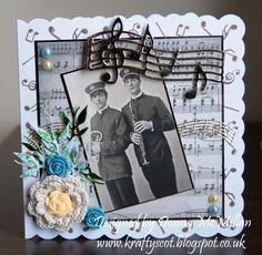 Music theme card...