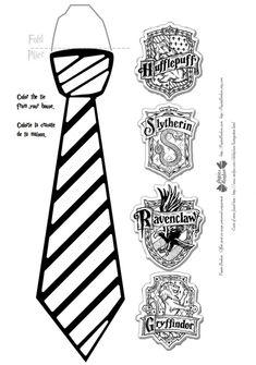 Harry Potter birthday party ties activity