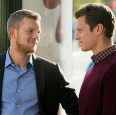 Kevin & Patrick #Looking #HBO Russell Tovey Jonathan Groff