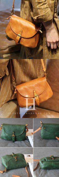 Green Satchel Bag Womens Leather Satchel Bag Small Satchel Bag Handmade Genuine Leather Handbag Shoulder Crossbody Bag Purse Clutch For Women Leather Crossbody Bag, Leather Purses, Leather Handbags, Satchel Bag, Clutches For Women, Leather Shoulder Bag, Shoulder Bags, Custom Bags, Small Bags