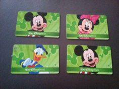 Four - 1 Day Walt Disney World Park Hopper Tickets